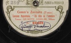 """Comm'o Zuccaro. Canzone Napoletana : """"Chi dice ca l'ammore"""" ; Fonzo, comp. ; Giuseppe Anselmi, T ; acc. de piano - source : gallica.bnf.fr / BnF"""