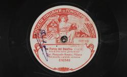 """La Forza del destino. Aria di Don Carlo : """"Urna fatale"""" ; Verdi, comp. ; Pasquale Amato, baryton ; acc. d'orchestre - source : gallica.bnf.fr / BnF"""