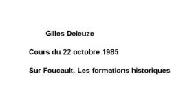 """Accéder à la page """"Sur Foucault : les formations historiques"""""""
