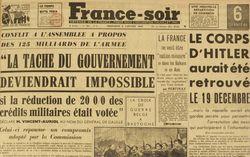 """Accéder à la page """"France Soir"""""""