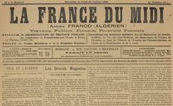 """Accéder à la page """"France du Midi (La)"""""""