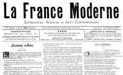 """Accéder à la page """"France moderne (La)"""""""