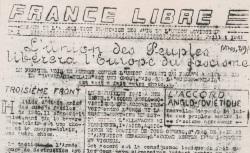 """Accéder à la page """"France libre [Gard]"""""""