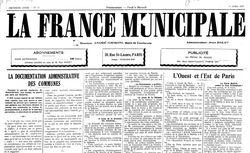 """Accéder à la page """"France municipale (La)"""""""