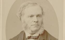 César Auguste Franck, photographie de Pierre Petit, 1887 - source : gallica.bnf.fr / BnF