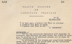 """Accéder à la page """"Francs-tireurs et partisans français. Bulletin de renseignements"""""""
