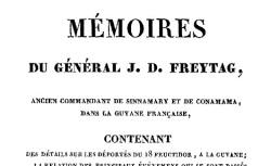 """Accéder à la page """"Freytag, général, Mémoires"""""""