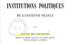 """Accéder à la page """"Histoire des institutions politiques de l'ancienne France. La Monarchie franque"""""""