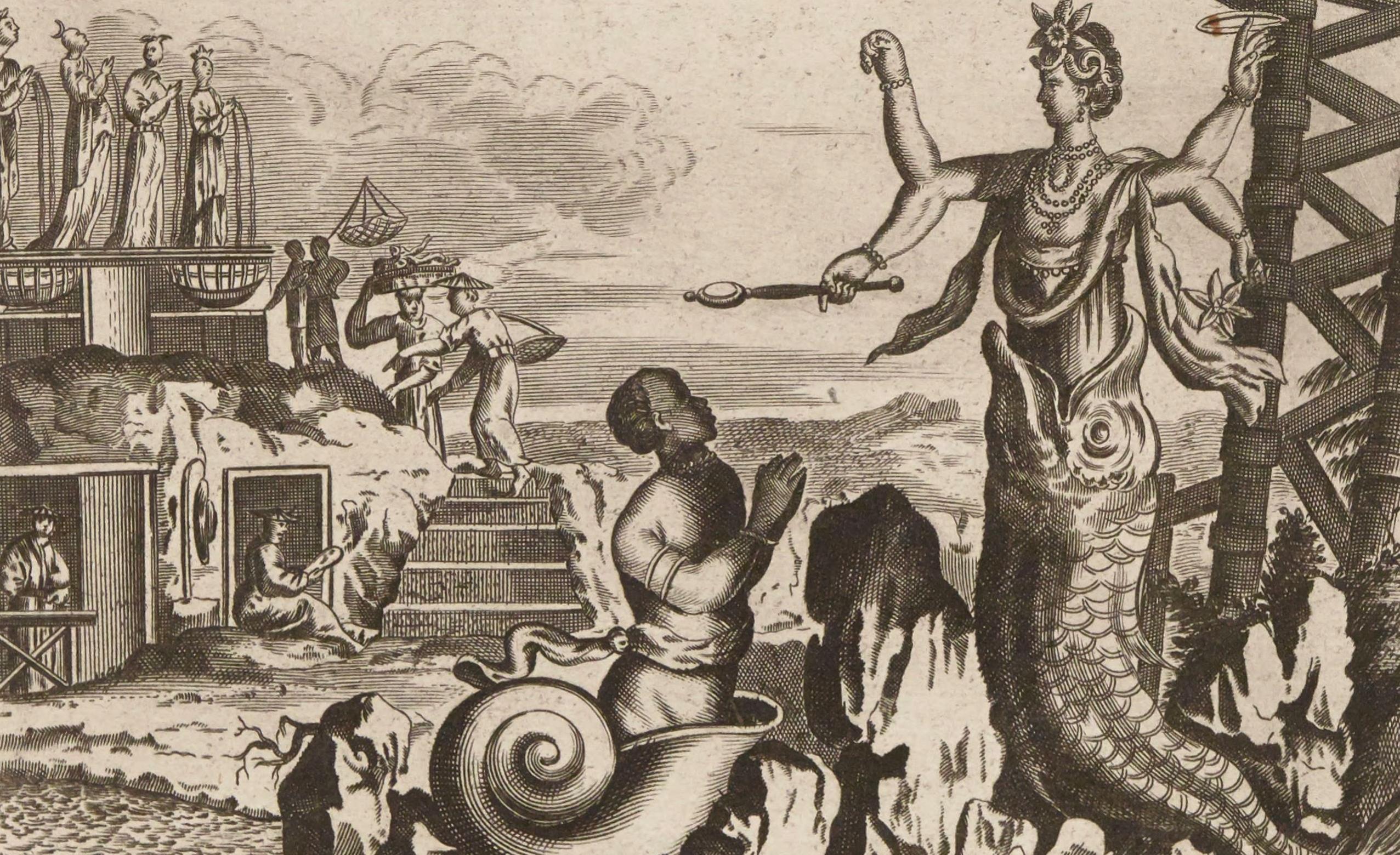 """L""""idole Canon...Van Der Aa, Pieter, la Galerie agréable du monde, 1729. PET FOL-VX-105 pl. 37"""