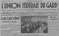 """Accéder à la page """"Union fédérale du Gard"""""""