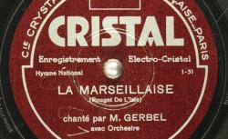 Disque SD 78 25-15802) - Gerbel (18.. - 19..) est un chanteur français de variété des années 1920. Il a chanté à l'Empire à Paris en 1929 - source : BnF/gallica.bnf.fr
