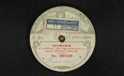 """Germania : """"L'erito, prigionier..."""" ; Alberto Franchetti, comp. ; Riccardo Stracciari, baryton ; acc. au piano - source : gallica.bnf.fr"""