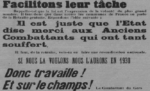 """Accéder à la page """"Combattant du Gers (Le)"""""""
