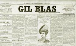 """Accéder à la page """"Gil Blas"""""""