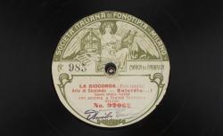"""La Gioconda. Aria di Gioconda : """"Suicidio...!"""" ; Ponchielli, comp. ; Amelia Talexis, soprano ; acc. de grand orchestre - source : gallica.bnf.fr / BnF"""