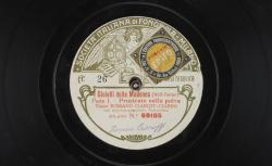 """I Gioielli della Madona : """"Prostrato nella polve"""" ; Wolf-Ferrari, comp. ; Romano Ciaroff-Ciarini, ténor ; acc. d'orchestre - source : gallica.bnf.fr / BnF"""