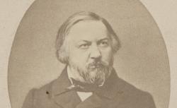 Mihail Ivanovitsch Glinka, Sllevitskii, St-Pétersbourg, 1856