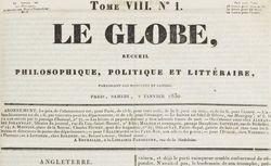 """Accéder à la page """"Globe (Le)"""""""
