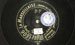 Disque NC Pathé saphir 504/506 - André Gresse (1868-1937) est un artiste lyrique français (basse). Il entre à l'Opéra-comique en 1896 puis à l'Opéra de Paris (1901-1927) - source : BnF/gallica.bnf.fr