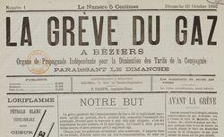 """Accéder à la page """"Grève du gaz à Béziers (La)"""""""