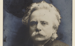 Edvard Grieg, photographie, 1900 - source : gallica.bnf.fr / BnF
