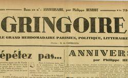 Gringoire : le grand hebdomadaire parisien