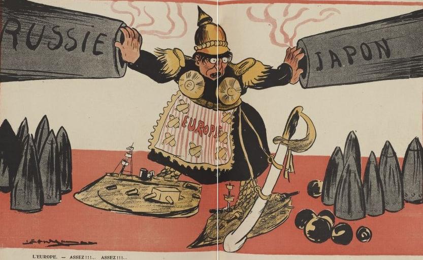 L'Assiette au beurre, 1904/10/08 (N184). RES G-Z-337. pp.3058-3059. vue 9.