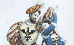 [Enregistrements sonores] / [Guillaume Tell, opéra de Rossini : costumes de Simon et de Mme Elie / gravé par Maleuvre], 1829 - source : gallica.bnf.fr / BnF