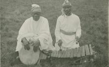 Chants (solo, duo, choeur), énumération, récits et récitation religieuse. Jeu de balafon et de tambour djembé. Claquements de doigts et battements de mains (5 disques)
