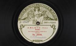 Amleto. Brindisi / Thomas, comp. ; Mario Sammarco, baryton ; acc. au piano - source : gallica.bnf.fr / BnF
