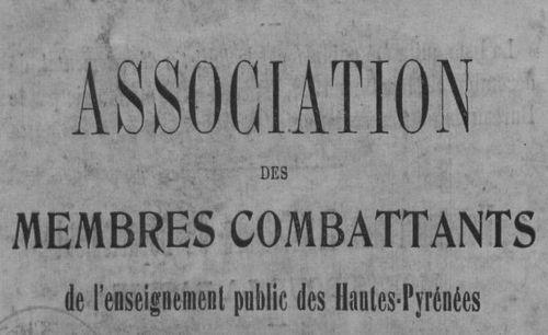 """Accéder à la page """"Anciens combattants de l'enseignement public des Hautes Pyrénées"""""""
