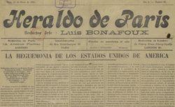 """Accéder à la page """"Heraldo de Paris"""""""
