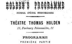 """Accéder à la page """"Holden's programme"""""""