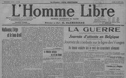 """Accéder à la page """"Homme libre (L')"""""""