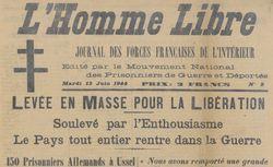 """Accéder à la page """"Homme libre (L') (Cantal)"""""""
