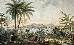 Vue de Rio de Janeiro, A. Martinet