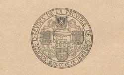 """Accéder à la page """"Société d'études de la province de Cambrai (Lille)"""""""