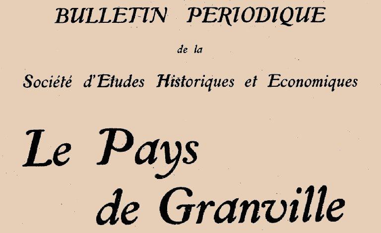"""Accéder à la page """"Le Pays de Granville"""""""