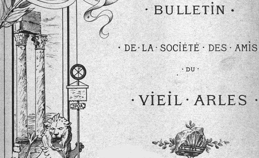 """Accéder à la page """"Société des amis du vieil Arles"""""""