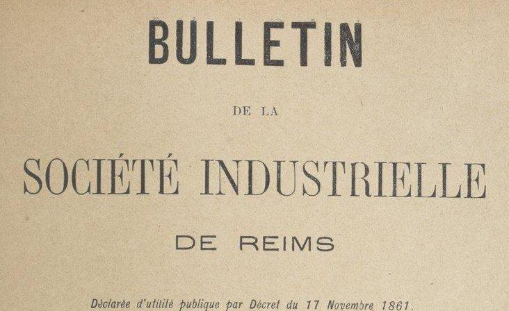 """Accéder à la page """"Société industrielle de Reims"""""""