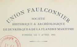 """Accéder à la page """"Union Faulconnier, société historique de Dunkerque"""""""
