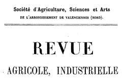 """Accéder à la page """"Société d'agriculture, sciences et arts de Valenciennes"""""""