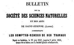 """Accéder à la page """"Société des sciences naturelles de Saint-Etienne"""""""