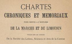 """Accéder à la page """"Société des lettres, sciences et arts de la Corrèze (Tulle)"""""""
