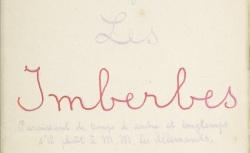 """Accéder à la page """"Imberbes (Les)"""""""