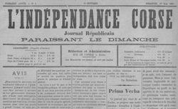"""Accéder à la page """"Indépendance corse (L')"""""""