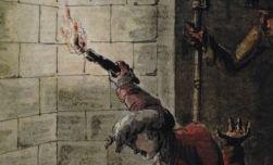 Un des cachots de la Bastille fait sur les lieux lors de la prise de cette affreuse prison