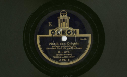(3 disques : NC Odéon O4312 [8-9]-[10], NC Columbia GJ62 GJ63)