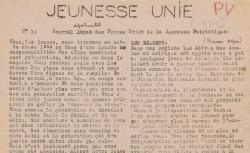 """Accéder à la page """"Jeunesse unie (Basses-Alpes)"""""""