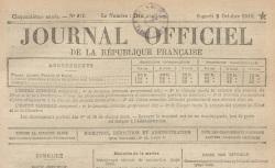 """Accéder à la page """"Médaillés posthumes de la Grande Guerre"""""""